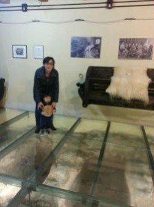 Noi al Museo delle Conce di Bosa
