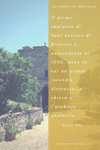 Sant'Antioco di Bisarcio e arte romanica in Sardegna itinerario