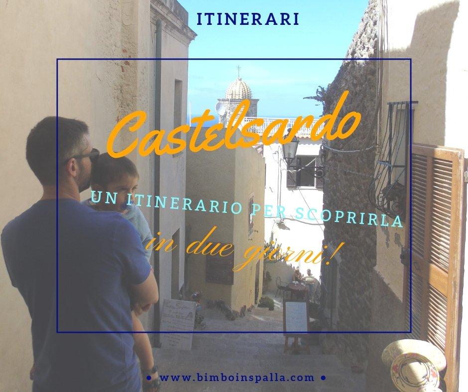 borgo di Castelsardo in Sardegna