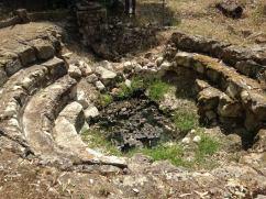 Il Calidarium delle antiche terme di Benetutti.