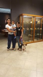Noi con Daniela e Lola (l'allegra brigata).