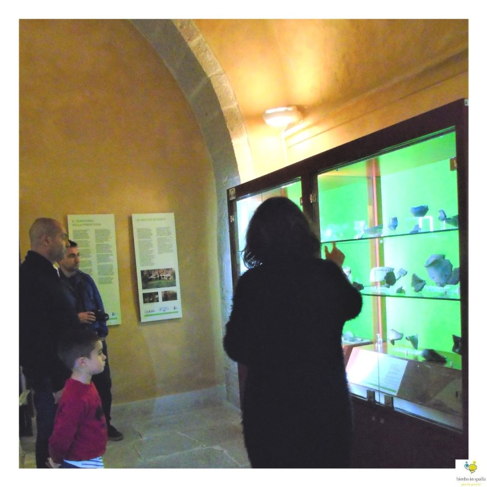 Museo Archeologico Alle Clarisse itinerario Ozieri