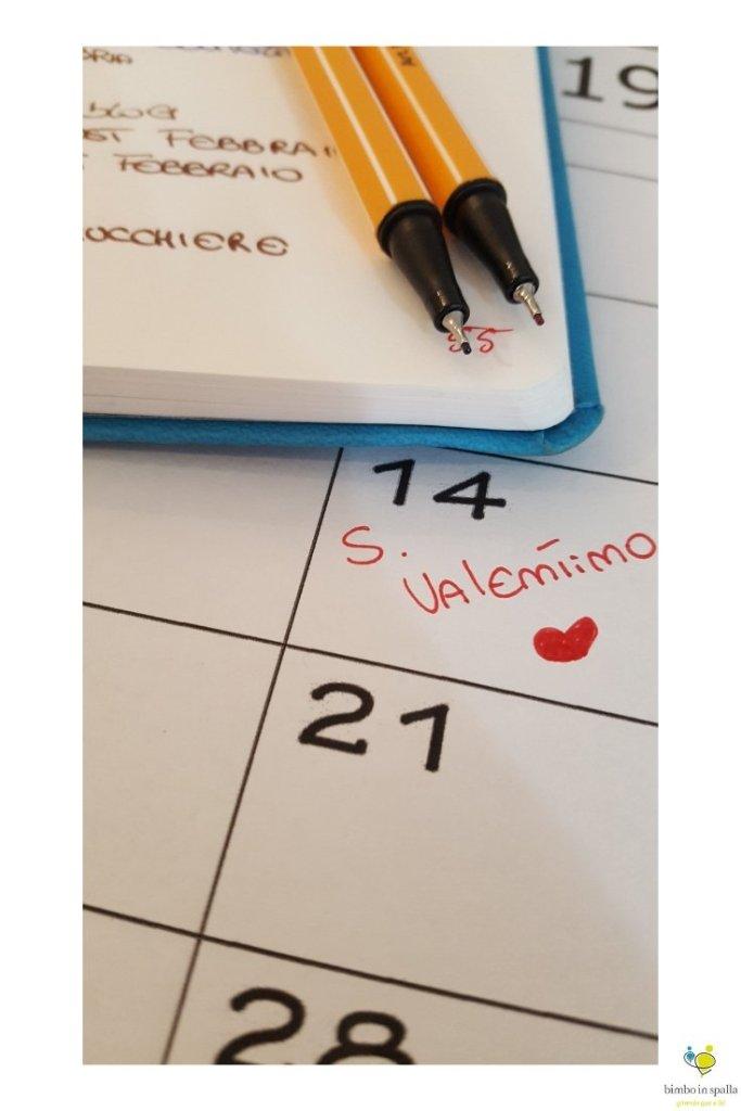 Febbraio 2019 calendario