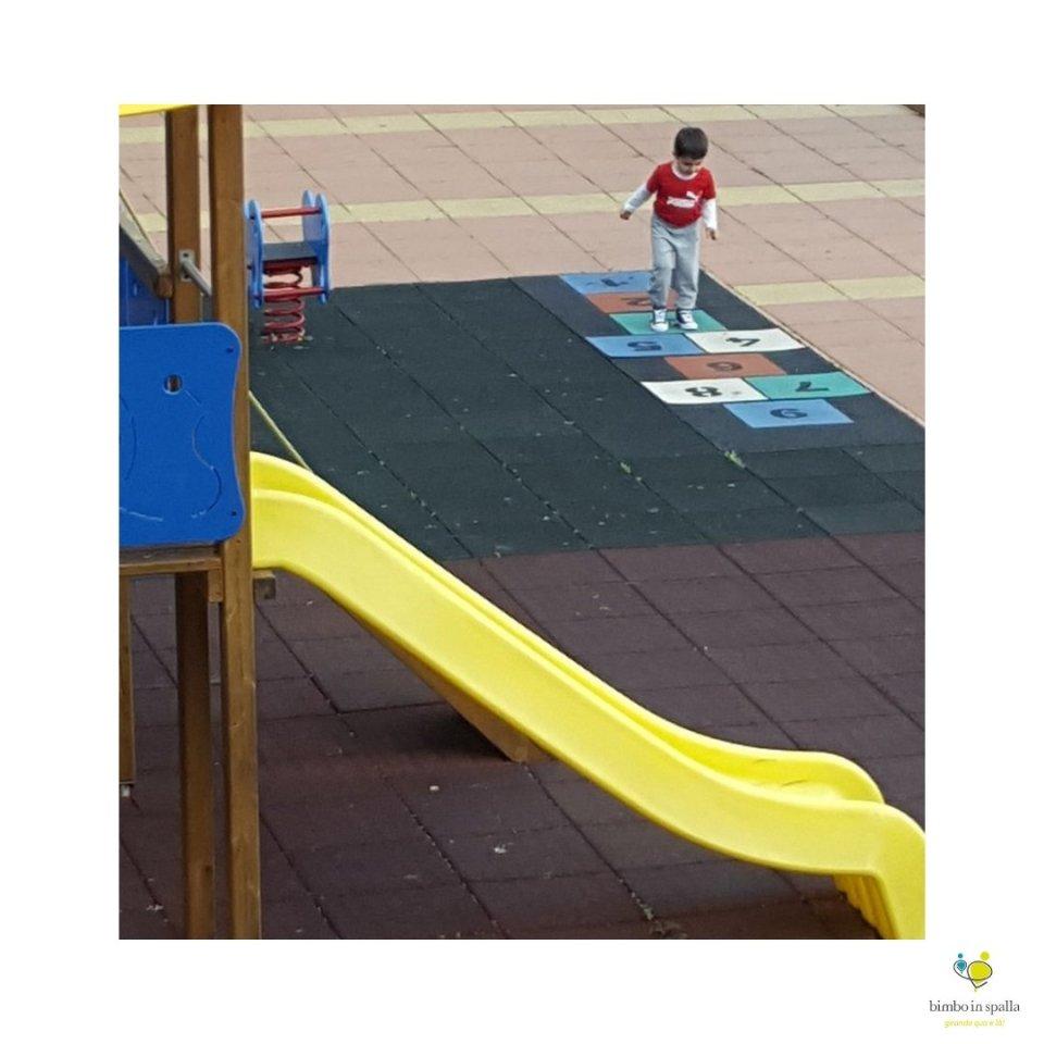 area giochi bambini a Suvereto in Toscana