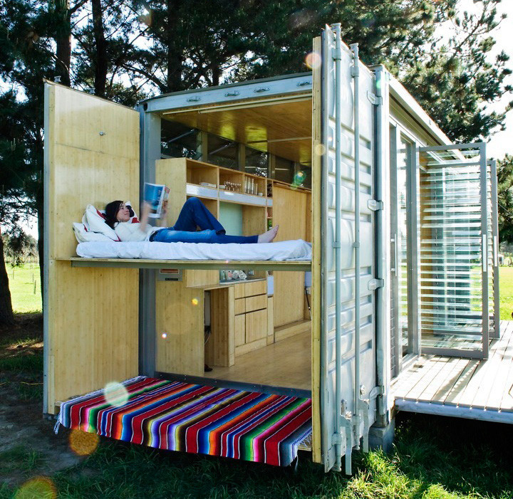 Port-a-Bach: casa container | Atelier Workshop
