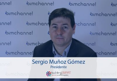 BIM - Entrevista a Sergio Muñoz presidente de la BUILDING SMART SPANISH CHAPTER - BIMEXPO 2016