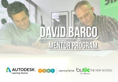 David Barco, coordinador del Mentor Program y miembro del Consejo Educativo de butic