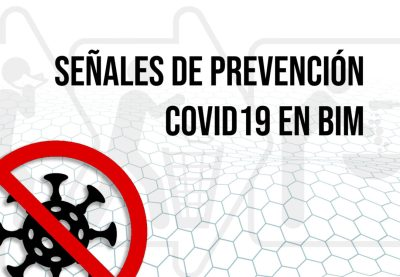sEÑALES DE PREVENCIÓN covid19 en BIM - portada bimchannel