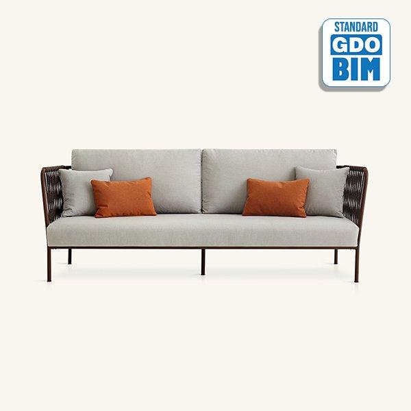 Nido - XL hand-woven sofa