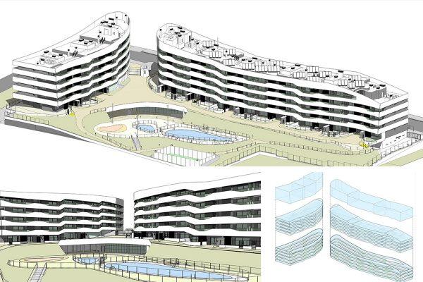 Modelo BIM del proyecto Alea Homes – Fuente Cano y Escario