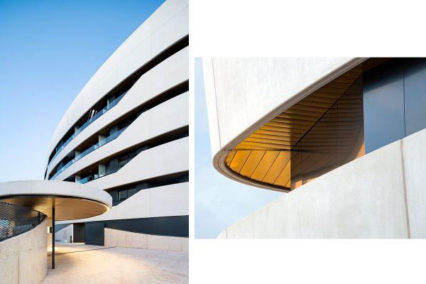 etalles de acceso y terrazas del proyecto Alea Homes-600x400