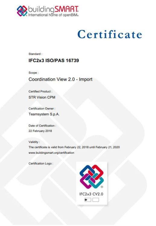 Certificado TeamSystem