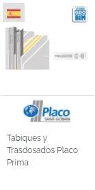 Imagen Objeto BIM Tabiques y Trasdosados Placo Prima