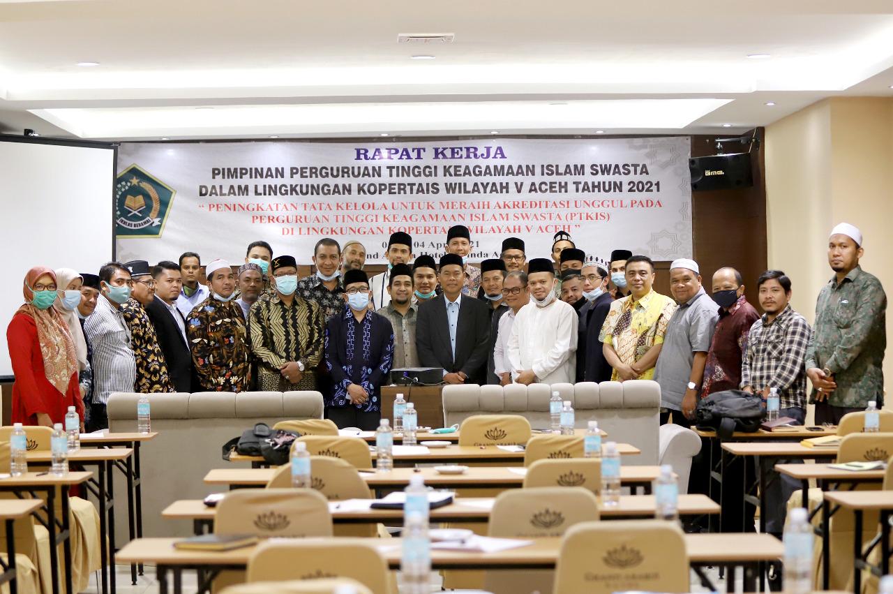 Ketua STAI Darul Hikmah Terpilih Sebagai Wakil Ketua Forum Pimpinan PTKIS Se-Aceh