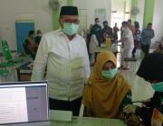 Memasuki Ramadhan Vaksinasi Covid-19 Di Simeulue Dihentikan