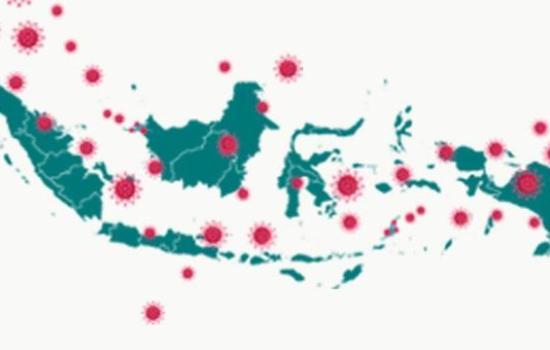 Covid-19 di Indonesia mengalami Penurunan