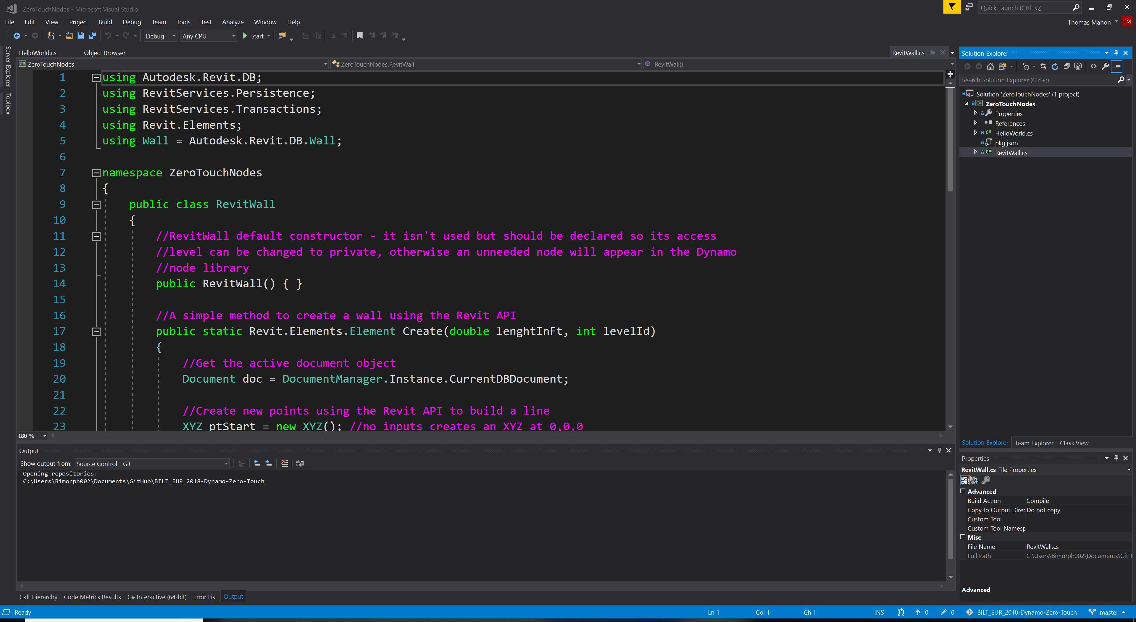 Become a Dynamo Zero Touch C# Node Developer in 75 Minutes