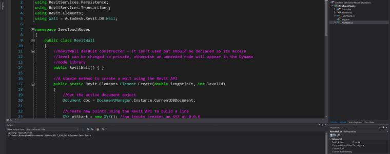 Bimorph Dynamo ZeroTouch C# Node Developer BILT EUR 2018 lab dataset and handout