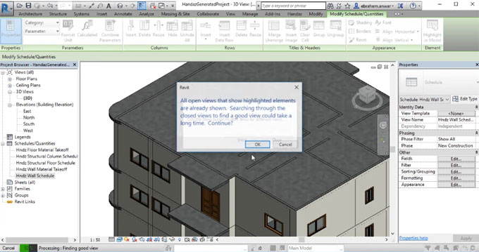 CAD2BIM can easily convert any 2D Cad drawing into 3D BIM model