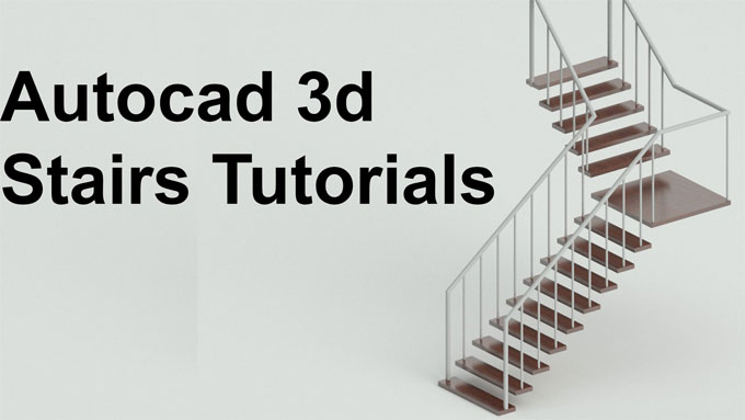 How to use AutoCAD for creating stairs