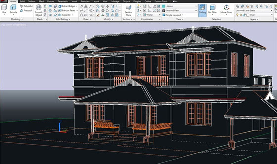 An exclusive autocad course on 2D and 3D Elevations
