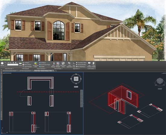 AutoCAD Architecture or AutoCAD MEP