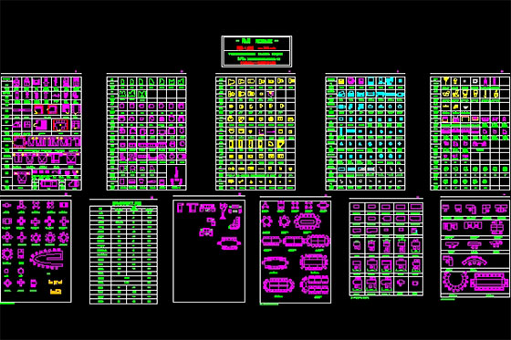 CAD blocks can save huge time & money in your cad design & cad drafting process