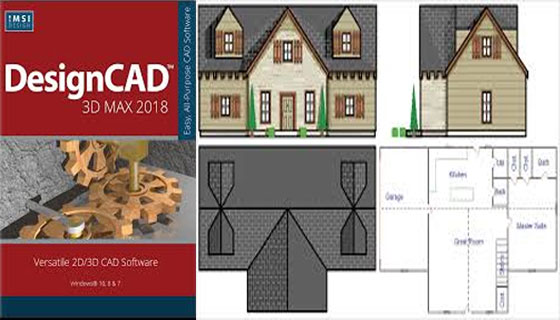 IMSI Design launched New DesignCAD 3D MAX 2018