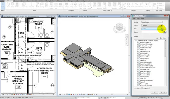 Upgradation made to Ideate Explorer for Revit