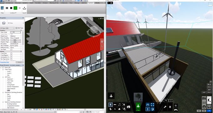Demo of Lumion Plugin For Revit