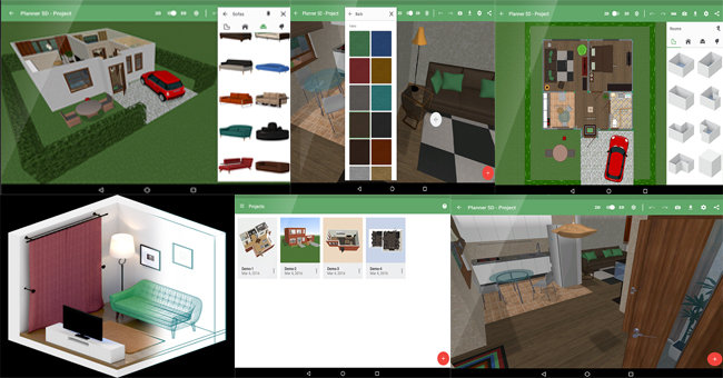 Planner 5D is a useful software for interior designers