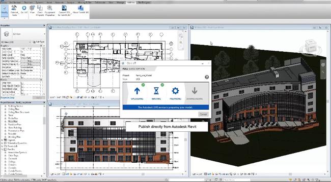 Brief demonstration of Autodesk Revit LIVE