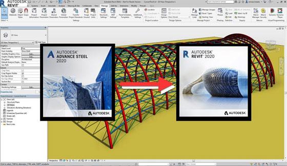 Revit to Advance Steel Collaboration