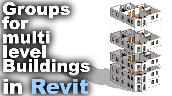 How to use group tool in Revit for multi-storied buildings
