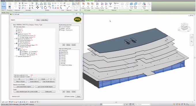 PCL Construction has launched PCL PartsLab to leverage BIM for construction