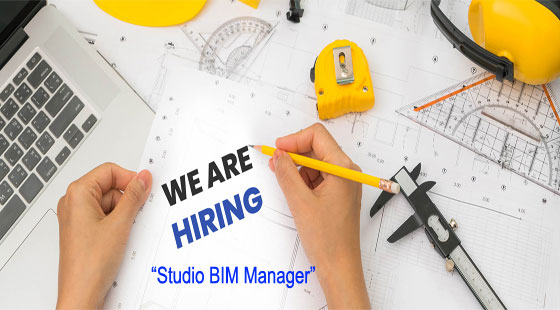 A position is vacant for BIM Studio Manager in San Diego, Phoenix or Culver City offices