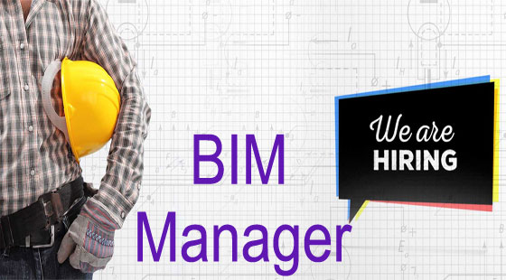 A position is vacant for BIM manager