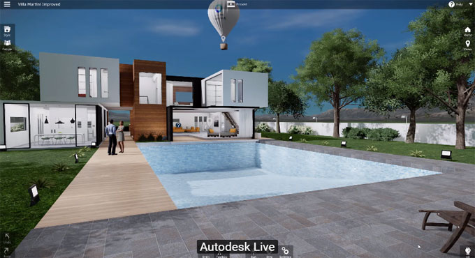 Use Revit Live to transform any Revit model into virtual reality