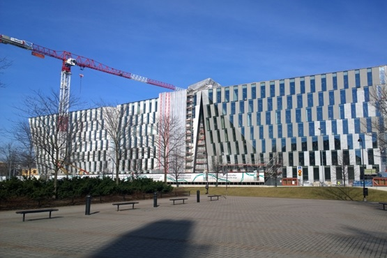 OP-Pohjola Verslo centras Vallilla pastatytas Helsinkyje (Suomija)