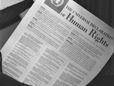 DIe Allgemeine Erklärung der Menschenrechte – Einblicke und Ausblicke