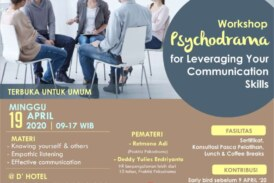 Workshop Psychodrama for Leveraging your Communication Skills – Jakarta, 190420