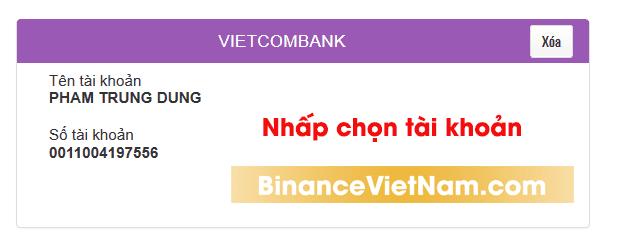 Hướng Dẫn Đổi Rút Tiền Từ Binance Sang Tiền Việt Nam(VNĐ) -
