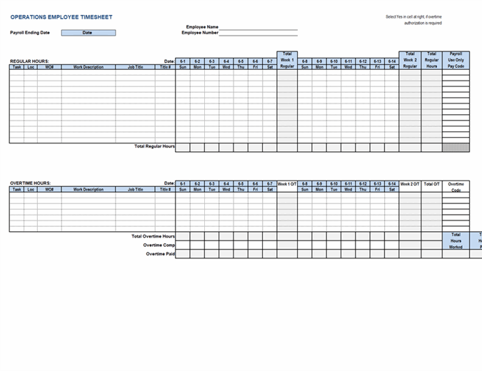 A construction timesheet template helps an employer or builder to track the work records of each employee and decide upon their final payment. Weekly Time Sheet By Client And Project