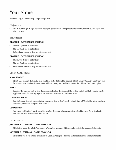 resume template for pages app on your mac pc today and change your world. Resumes And Cover Letters Office Com