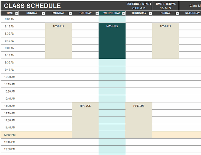 Get a professional template at no cost. Schedules Office Com