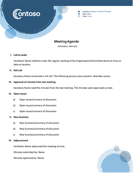 Download this free template to create comprehensive, quality case studies. Agendas Office Com
