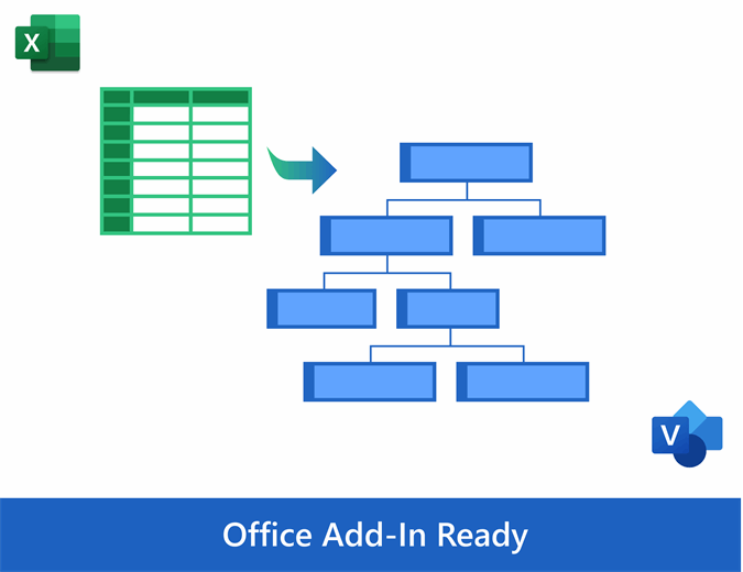 If necessary, you can change the color, size and placement of the blocks. Organization Chart From Data