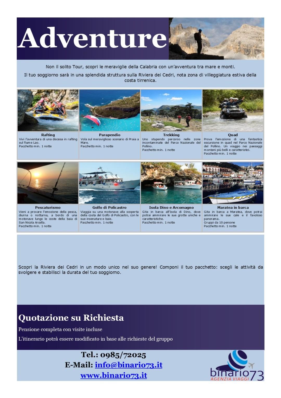 Tour Avventura