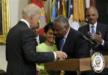 Joe Biden, Todd Jones, Eric Holder, Anthony Jones, Margaret Jones
