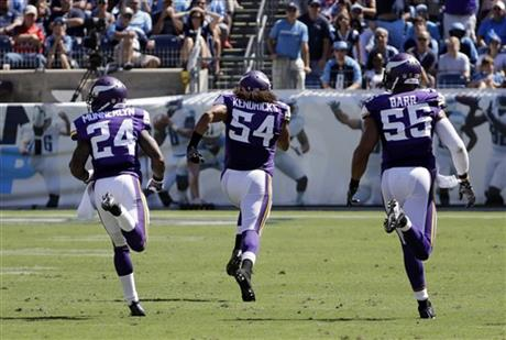 Eric Kendricks, Captain Munnerlyn, Anthony Barr